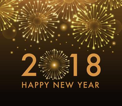 Happy New Year 2018 - Leadership Development, Business